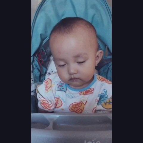 瞌睡的图片可爱的宝宝