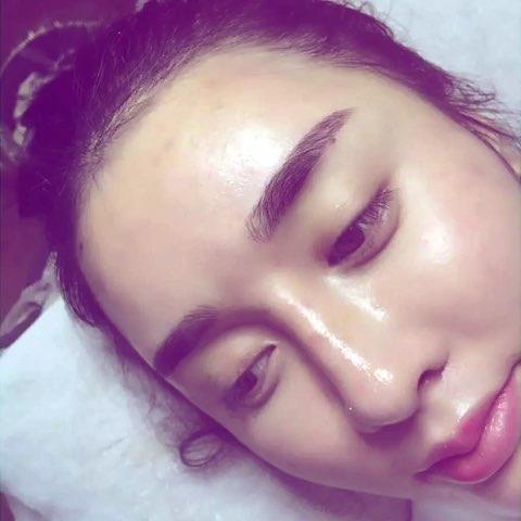 韩式半永久妆容,让你做素颜美女