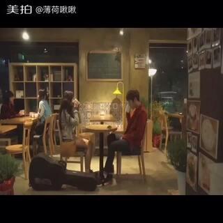 #韩剧那些好听的ost# 🎤 I Will Be Your Love 很喜欢的一部音乐剧🎥两年前的韩剧了 至今难忘✨里面的插曲都很耐听💕正是因为这部剧我才拿起了吉他🎸🎸
